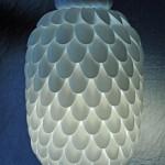 Ночник из пластиковых ложек